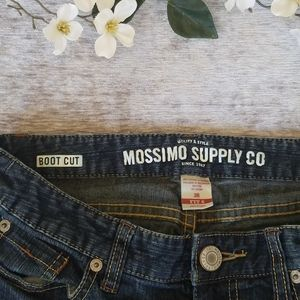 Mossimo boot cut jeans sz 3R 1% spandex
